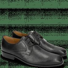 Derby schoenen Rico 1 Rio Perfo Black