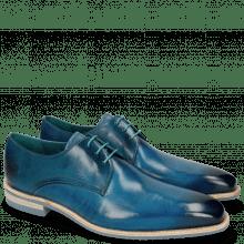 Derby schoenen Lance 24 Bluette Lasercut Crown