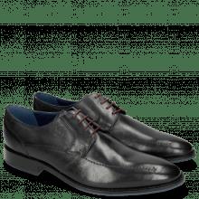 Derby schoenen Victor 1 Rio Navy Red Laces