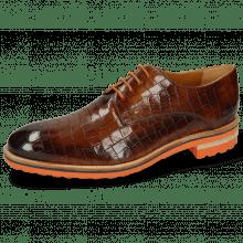 Derby schoenen Tom 8 Crock Wood Aspen Orange