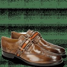 Derby schoenen Clint 2 New Taupe Buckle Smoke