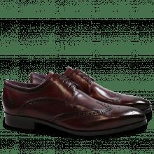 Derby schoenen Lance 2 Crust Burgundy HRS