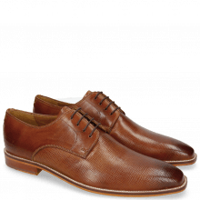 Derby schoenen Alex 1 Venice Haina Tan Tex