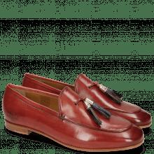 Loafers Scarlett 3 Ruby Tassel Navy