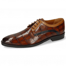 Derby schoenen Alex 10 Turtle Wood Sand Tan