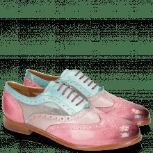 Oxford schoenen Selina 30 Vegas Bubblegum Light Purple Mermaid Cyber