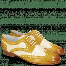 Derby schoenen Sally 66 Vegas Sun Perfo White