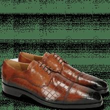 Derby schoenen Lewis 27 Crock Tan Shade Electric Blue