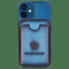 iPhone hoesje Twelve Mini Vegas Bluette Wallet Bluette