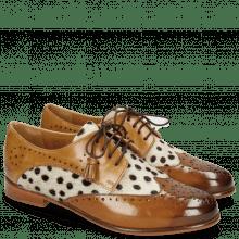 Derby schoenen Selina 41 Wood Sand Hairon Wildcat