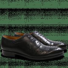 Oxford schoenen Kane 6 Black LS Black
