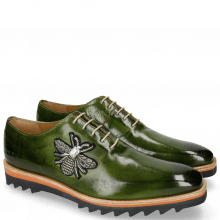 Oxford schoenen Jeff 26 Ultra Green Patch Bee Stone