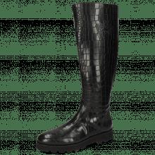 Laarzen Susan 7A Rio Reptile Black