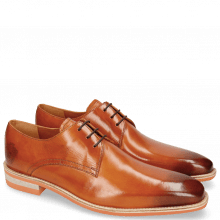 Derby schoenen Lance 24 E-Orange Lasercut Crown
