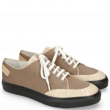 Sneakers Harvey 19 Crock Natural Canvas Taupe