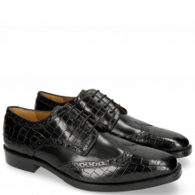 Derby schoenen Jeff 1 Crock Black