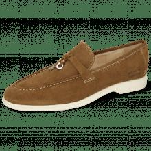 Loafers Earl 3 Suede Pattini Tan