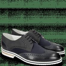 Derby schoenen Kane 5 Lycra Navy Nubuck Deep Navy