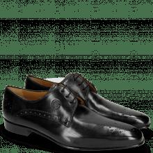 Derby schoenen Kris 2 Black Lining Rich Tan