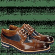 Derby schoenen Tom 22 Wood Navy Nickle