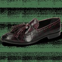Loafers Emma 11 Turtle Viola Shade Black Rivets