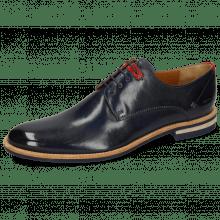 Derby schoenen Clint 1 Imola Navy Deco Pieces Ruby