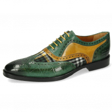 Oxford schoenen Leonardo 21 Turtle Pine Tex Check Bosco Ocra