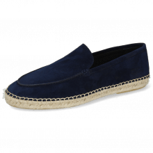 Loafers Sandro 1 Oily Suede Navy Stitching