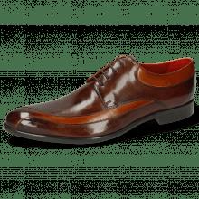 Derby schoenen Toni 36 Cognac Mid Brown