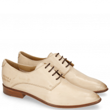 Derby schoenen Jessy 5 Pavia Beige Lining Collar