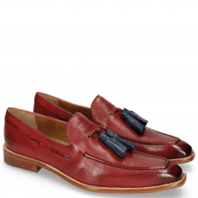 Loafers Leonardo 1 Pisa Ruby Tassel Wind