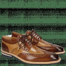Derby schoenen Marvin 1 Wood Sand Tassel Modica Navy