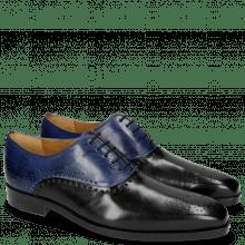 Oxford schoenen Lewis 41 Black Midnight Blue