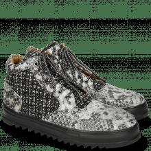 Sneakers Max 1 Snake Tweed Black White