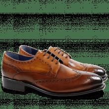 Derby schoenen Charles 2 Crust Wood LS