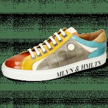 Sneakers Harvey 9 Vegas Turtle Sweet Heart Yellow White Smoke Turquoise