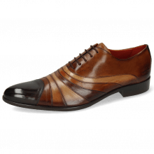 Oxford schoenen Toni 43 Espresso Wood Tan