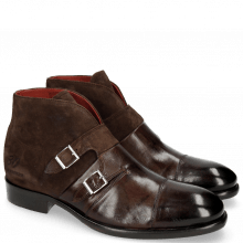 Enkellaarzen Patrick 11 Dark Brown Lima Dark Brown