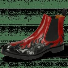 Enkellaarzen Tom 29 Flame Black Ruby