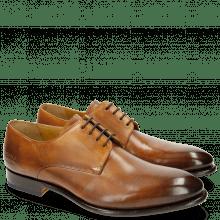 Derby schoenen Lionel 3 Tan LS Brown