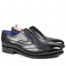 Oxford schoenen Charles 8 Crust Black LS