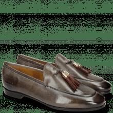 Loafers Scarlett 3 Grigio Tassel Plum