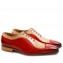 Oxford schoenen Clark 2 Crust Red Beige LS