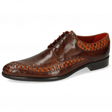 Derby schoenen Toni 36 Woven Orange Mogano Mid Brown