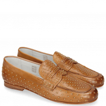 Loafers Caroline 3 Vegas Tan Rivets