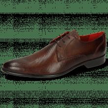 Derby schoenen Toni 1 Dice Wood LS Brown