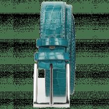Riemen Larry 1 Crock Turquoise Classic Buckle