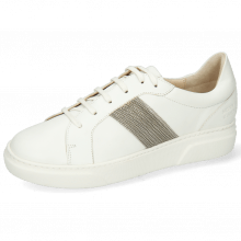 Sneakers Hailey 17 Flex Extra White Strap Metal Tricolore