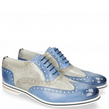 Oxford schoenen Scott 12 Vegas Neptune Blue Digital White