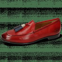 Loafers Scarlett 48 Pisa Ruby Accessory Gold
